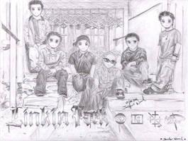 LINKIN PARK_ChibiStyle_YaY by JeBeNa0721