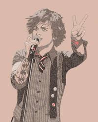 Billie Joe Armstrong Typographic by DanTherrien101