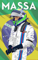 Felipe Massa 2014 by DanTherrien101