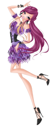 Roxy Flapper Style Couture PNG by HimoMangaArtist