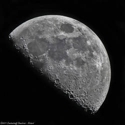 The moon at 1300mm by RichardConstantinoff