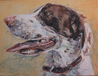 Buster acrylic by BTBArtist