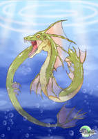 Sea Serpent by Dipaula