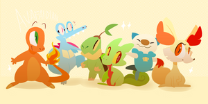 Starters by Avafaidian