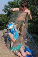 mermaid and fisherman 4 by MerlinsMoonShadow