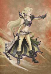 Magitek Knight Celes by christadaelia