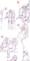 Final Fantasy VI Sketch Dump by christadaelia
