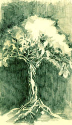 Tree by raindian