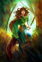 .Sorceress. by lunaticenigma
