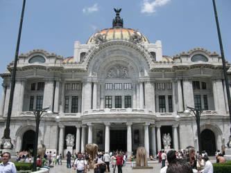 Palacio de Bellas Artes by Blackmattetoro