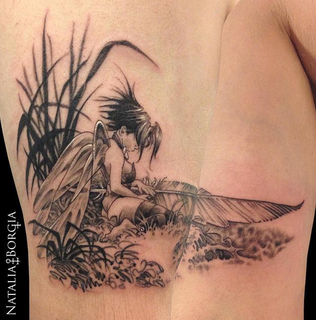 Tinkerbell Tattoo by nataliaborgia