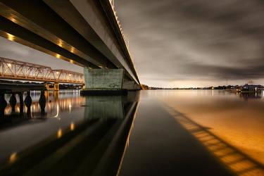 Twin Bridges by Sun-Seeker