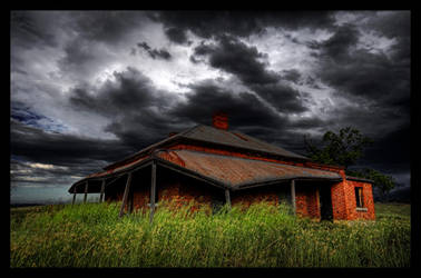 Tumbledown Cottage by Sun-Seeker