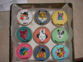 Actfur Cupcakes by Mikeious