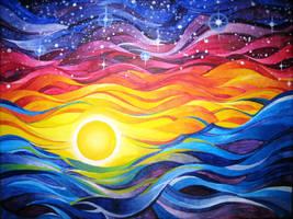 Sunset by Kyla-Nichole