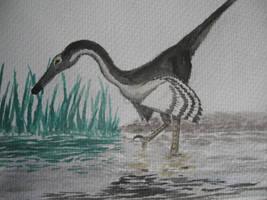 Buitreraptor Fishing by Oddity-1991