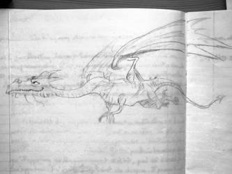 Dragon de Dragonologie by Tamilucis