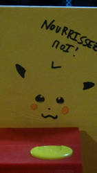Pikachu: FEED ME by Tamilucis