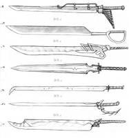 Sword Designs 3 by Iron-Fox