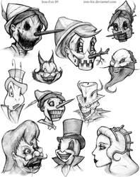 Pinocchio? by Iron-Fox