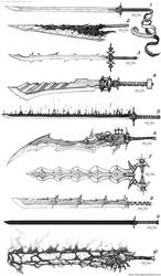 Sword Designs 5 by Iron-Fox