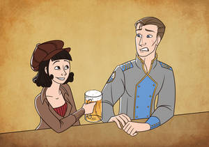 Sylva and Quint by Hellypse