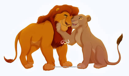 The King of Prideland and his Queen by Cartoonmoviesfan