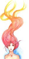 Fire Goddess by seandreea