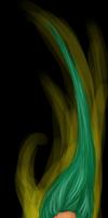 Green Fire by seandreea