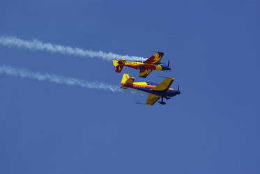 Bucharest Air Show by seandreea