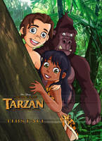 Son of Tarzan - Ad by Glee-chan