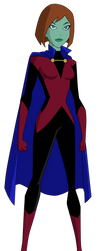 Miss Martian Unlimited by Glee-chan