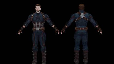 Steve Rogers Infinity War by NosbornGG