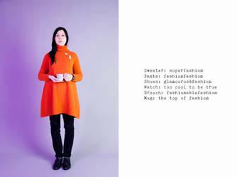 Orange, oh la la! by Violator3