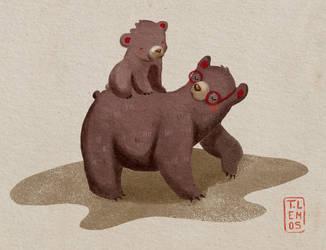 2 bears by lemosart