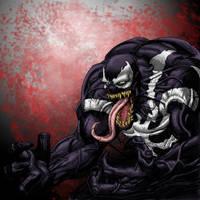 Venom the baddass by LiamShalloo