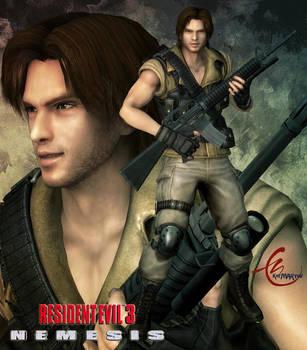 Resident Evil 3 Carlos Olivera By Kitmartin On Deviantart