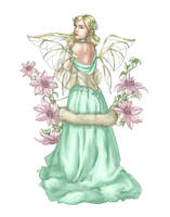 Clematis Fae by Demoncherry