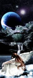 Angel Falls by Demoncherry