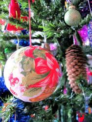 Handmade christmas ornament  by BlackCatArtDA