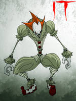 Pennywise the dancing clown by MrTobert