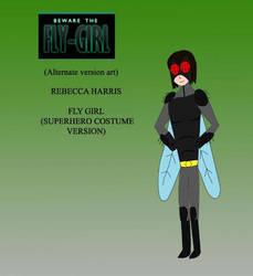 Rebecca Harris Fly Girl  (superhero Costume Ver) by joey2132132