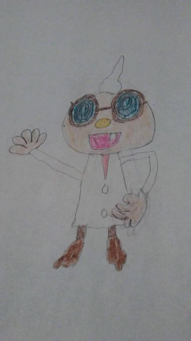 Professor E. Gadd by Nintendofan364