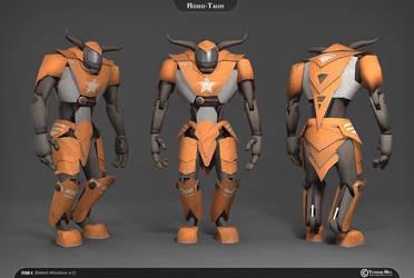 Robot Minotaur, 3D model by YeshuaNel
