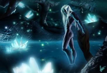 Crystalline Caverns by Cristole