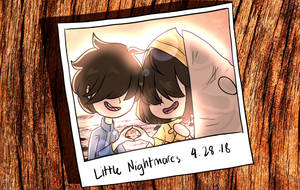 Little Nightmares Anniversary by MagsIshMoon