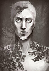 Tattoo dude by Hoodd