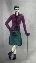 The Joker's New Clothes by Hoodd