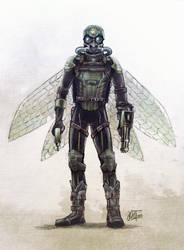 Aerial soldier by Hoodd
