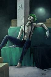 Joker with suspenders by Hoodd